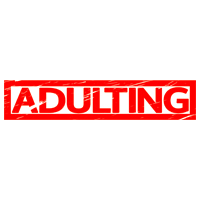 Adulting Stamp