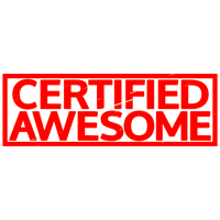 Certified Awesome Stamp