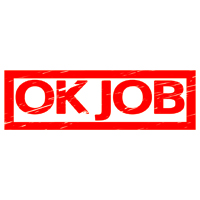 OK Job Stamp